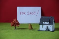 Investimento nel bene immobile Fotografie Stock