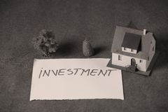Investimento nel bene immobile Fotografia Stock