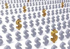 Investimento saggiamente Fotografia Stock Libera da Diritti