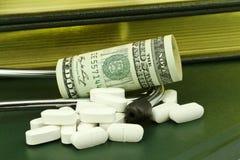 Investimentos bem sucedidos dos cuidados médicos fotografia de stock
