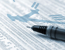 Investimentos oportunos Fotos de Stock