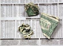 Investimentos ruins Imagem de Stock Royalty Free