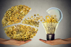 Investing in ideas business concept financial backing of innovation Stock Photo