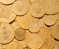 Investing in real gold than gold bullion and gold Stock Photos