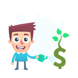 Investing in a startup Stock Image