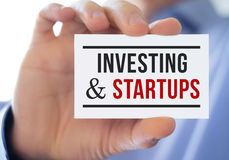 Investing and statups Royalty Free Stock Images