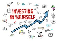 Investing In Yourself concept stock photos
