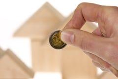 Investissement à la maison Image libre de droits