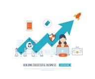 Investissement dans l'éducation Développement des affaires Image stock
