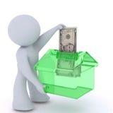 Investissement dans la maison Images libres de droits