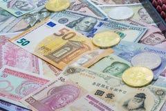 Investissement de devise étrangère photos libres de droits