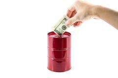 Investissement de pétrole Photos libres de droits