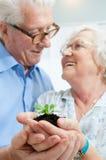 Investissement et économie pour la retraite Photos libres de droits