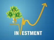 Investissement fructueux Photo libre de droits