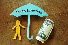 Investissement intelligent Images libres de droits