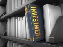 Investissement - titre de Grey Book Image stock