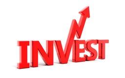 Investissez Photo stock