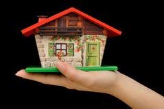 Investissez dans la propriété de maison Photos libres de droits