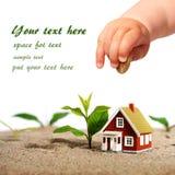 Investissez dans les immobiliers. Images libres de droits