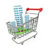 Investition im Gebäude Lizenzfreies Stockfoto