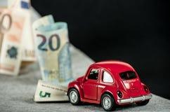 Investition oder Unfall lizenzfreie stockbilder