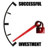 Investition und erfolgreiches Lizenzfreies Stockfoto