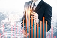 Investition und Geldkonzept stockbilder