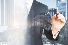 Investition und Vorratkonzept Stockbilder