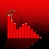 Investition verliert Lizenzfreies Stockfoto