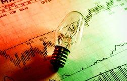 Investitions-Ideen stockbild