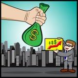 Investitions-Versprechen Stockbild