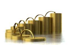 Investitionsaktivitäten Stockfoto
