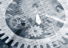 Investitionsgefahren lizenzfreie stockbilder