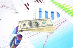 Investitionsplan lizenzfreie stockfotografie