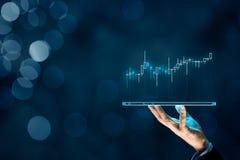 Investitore e commerciante immagine stock libera da diritti