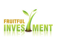 Investment 01. Investment today , growth investment , The best Project Royalty Free Stock Photography