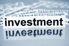 Investment Royalty Free Stock Photography