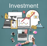 Investment Accounting Finance Auditing Banking Concept Stock Image