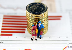 Investment advice, Walk Away Royalty Free Stock Photo