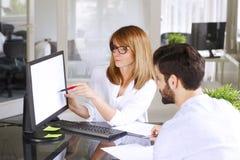 Investment advisor Stock Images
