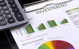 Investment Analysis Stock Image