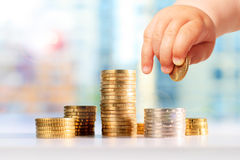 Investment banking concept Stock Photo