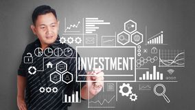 Investment in Business Concept stock photos