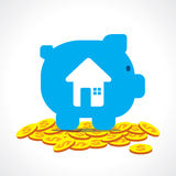 Investment for buy home concept Stock Photo