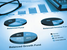Investment Chart Royalty Free Stock Images
