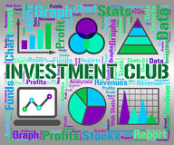 Investment Club Indicates Growth Join And Savings Stock Photo