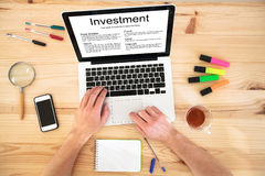 Investment concept Royalty Free Stock Images