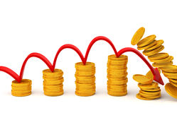 Investment concept. 3D rendering Stock Photo