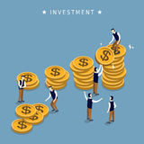 Investment concept design Royalty Free Stock Image