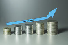 Investment Concept Stock Image